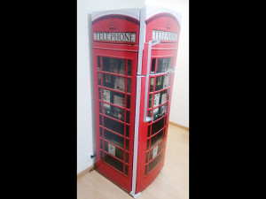 Geladeira Cabine Telefônica Londres