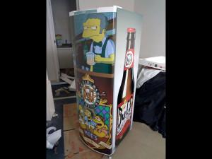 geladeira simpsons pai dos adesivos