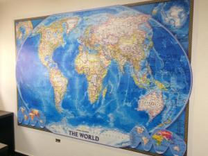 mapa mundi placa parede curitiba