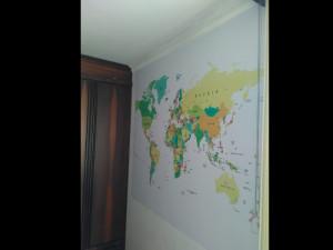 adesivo mapa mundi parede pai dos adesivos