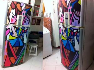 geladeira envelopamento curitiba pai dos adesivos