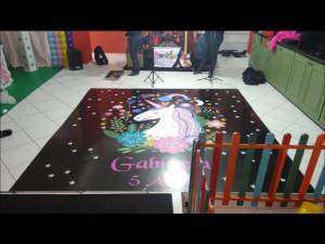 tapete de dança personalizado pai dos adesivos