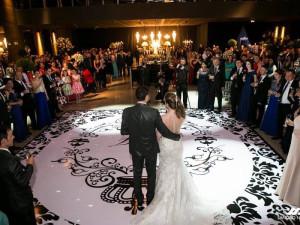 pista de dança casamento pai dos adesivos